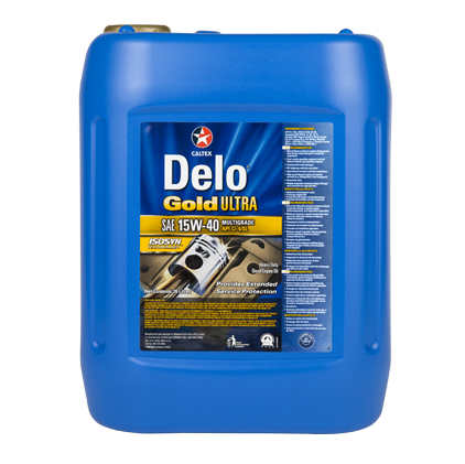 Texaco Delo Gold Ultra E 15W-40 20L