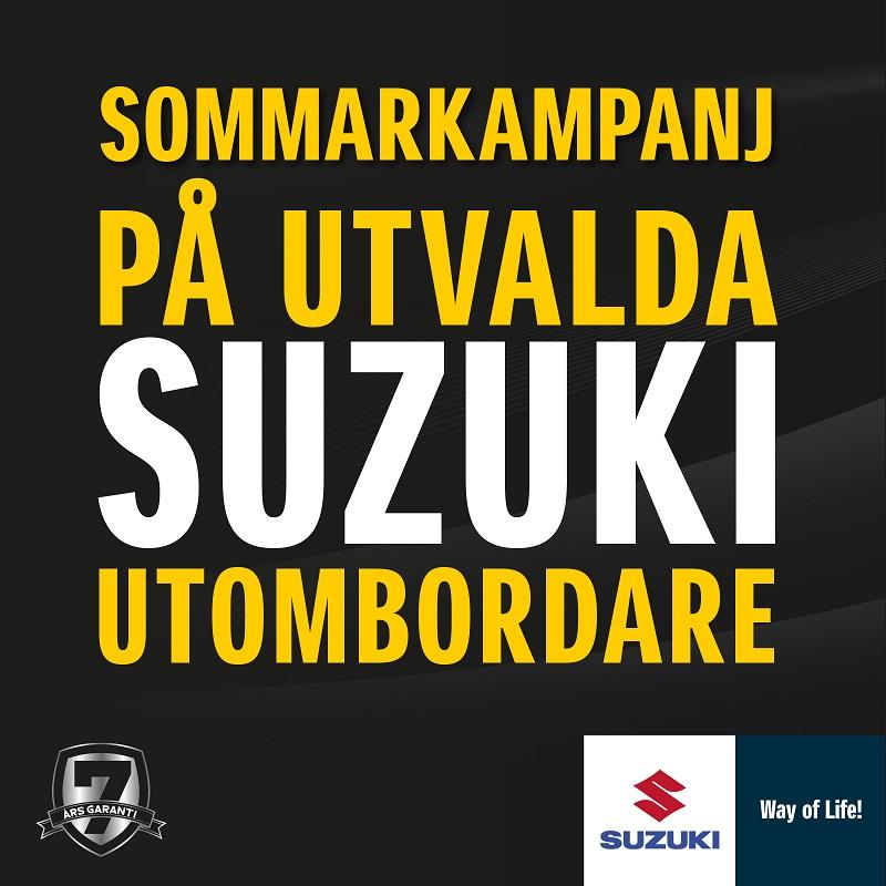 Suzuki Marin Sommarkampanj 2019
